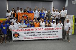 Força Sindical: Reunião de Planejamento de Ações de SST