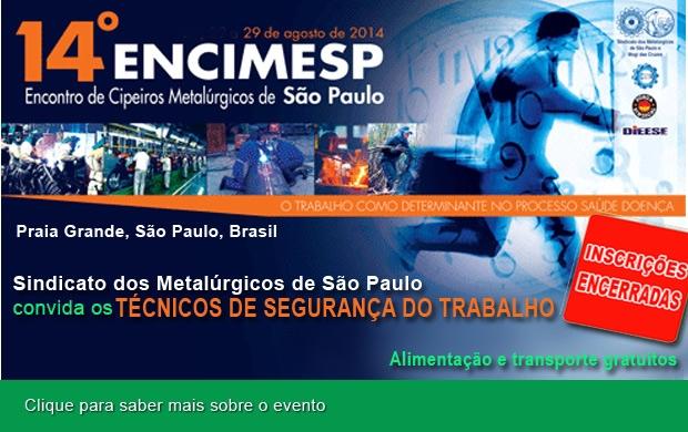 Metalúrgicos de SP convidam técnicos para evento