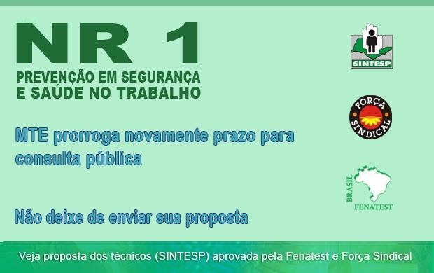 NR 1: consulta pública