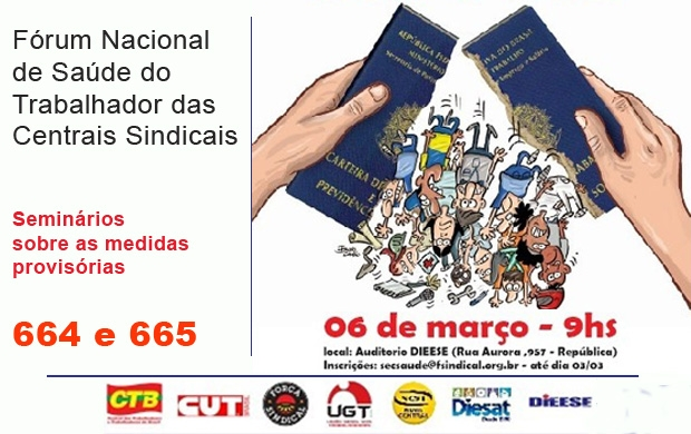Fórum centrais sindicais