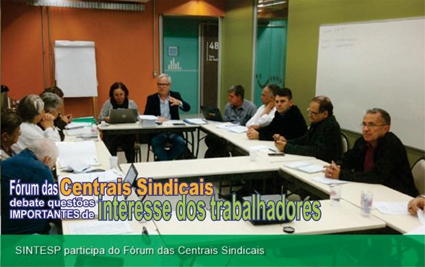 Sebastião no Forum das Centrais