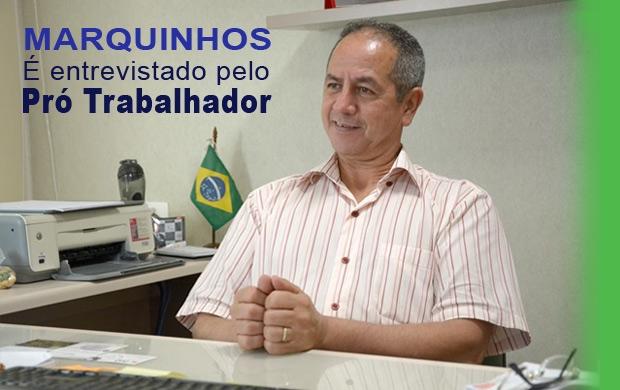 Entrevista com Marquinhos, presidente do SINTESP