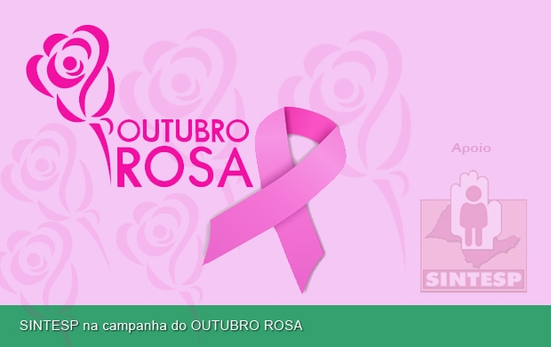 SINTESP na campanha do OUTUBRO ROSA