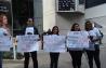28/4/2014 - Manifesto pacífico do SINTESP pelas vítimas de AT.