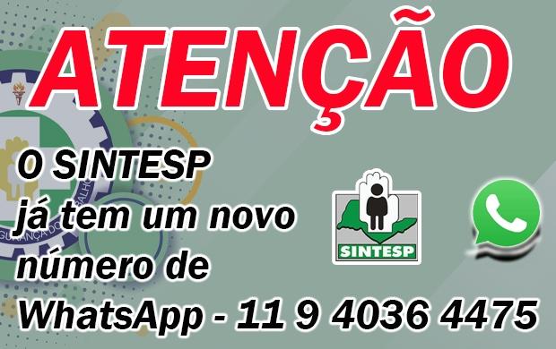 Novo Número do WhatsApp do Sintesp